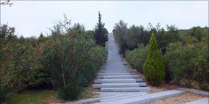Karayörük Deresi Şehitliği Merdiveni