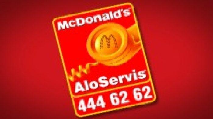 Canakkale Mc Donalds Alo Paket Servis