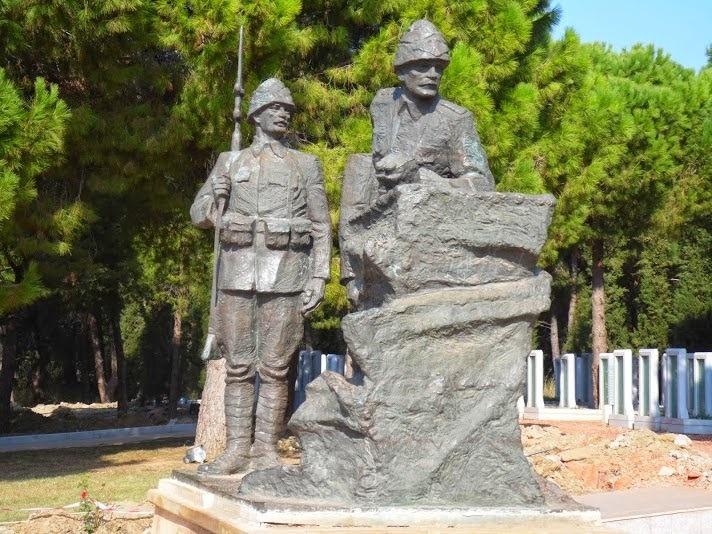 Mustafa Kemal Çanakkale'de