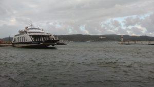 Kilitbahir Feribotu Limanda Bağlı