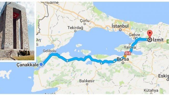 Kocaeli Çıkışlı Çanakkale Turu