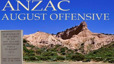 Anzac Day August 2015