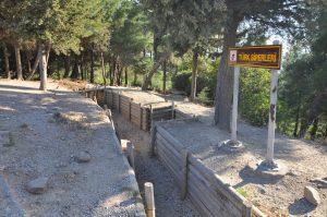 Conkbayırı Türk Siperleri